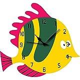 FISH WALL CLOCK By KK Craft |Kids Wall Clock |Wall Clock For Home Decor |Analog Wall Clock |Wall Clock | Wall Clock Latest Design