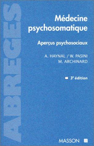 Médecine psychosomatique, 3e édition