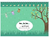 Die besten Baby Memory Book - babylogbook - my first year - Memory Book Bewertungen
