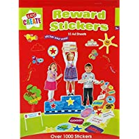 Over 1,280 Reward Stickers and 6 Well Done Stamps for Teachers (Bundle)