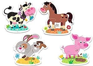 TREFL-Puzzle Baby Los Animales De La Granja 2-3-4-5Piezas, 36052u