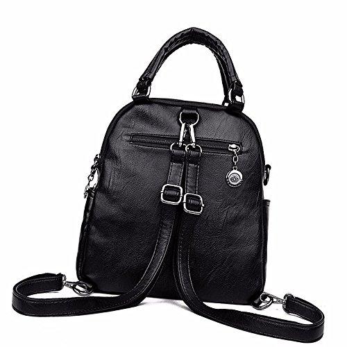 freizeit schulter multifunktionale weichen tragbare blau rucksack beutel schwarz q7rwI7