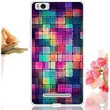 Prevoa ® 丨Xiaomi Mi4C 4C M4C Funda - Colorful Silicona Protictive Funda Case para Xiaomi Mi4C 4C M4C 5,0 Pulgadas Smartphone - 5