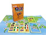 #9: Flag Frenzy Educational Toy Geography Card Game by CocoMoco Kids, Return Gift for Boys and Girls, 6-14 Year olds