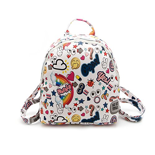 Dairyshop zaino donna Sacchetto zaino della spalla sacchetti scuola dello zaino modo per ragazzi adolescenti (1) 4