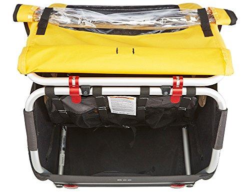 Burley Fahrrad Kinder Anhänger BEE Gelb faltbar 2 Sitzer Flex Connector, 946203 - 5