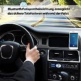 Bedee Autoradio KFZ Bluetooth Audio Empfänger MP3 Player mit Freisprecheinrichtung für iPhone / iPad / iPod / Smartphone, Unterstützung USB/AUX Anschluss SD Karten ISO Anschlußkabel 1 DIN schwarz - 2
