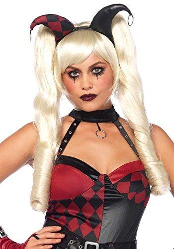 Dolly-kostüm Für Frauen (Leg Avenue Dolly Blonde Bob Perücke mit abnehmbaren langen Zöpfen)