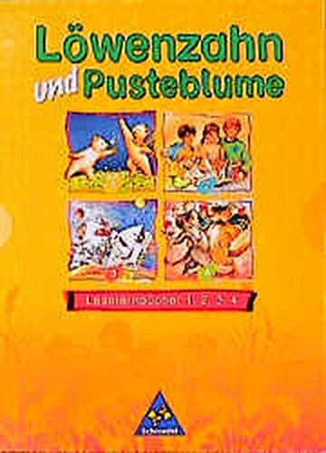 Löwenzahn und Pusteblume - Ausgabe 1998: Leselernbücher 1, 2, 3, 4 komplett im Paket