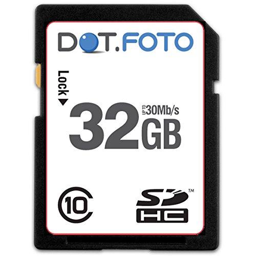 dotfoto-extreme-sdhc-32gb-class-10-uhs-1-bis-30mb-s-lesen-speicherkarte-fur-panasonic-lumix-dmc-s1-d