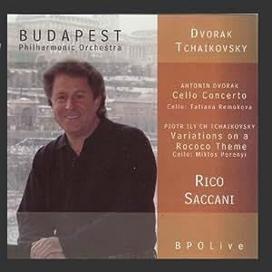 Dvorák - Cello Concerto & Tchaikovsky - Rococo Variations