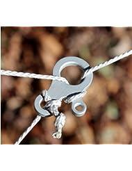 Vycloud(TM) EDC multifunci¨®n herramientas hebilla de equipo al aire libre herramienta de bolsillo paracord acero inoxidable bot¨®n de acampada nudo de la cuerda Fast Kits de viaje