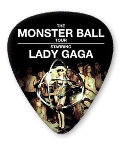 Lady Gaga Monster Ball Tour 5 X Premium Gitarre Pick Plektrums Plektrons Medium Plectrums