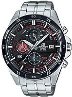 Casio Edifice - Herren-Armbanduhr mit Analog-Display und Edelstahlarmband - EFR-556DB-1AVUEF