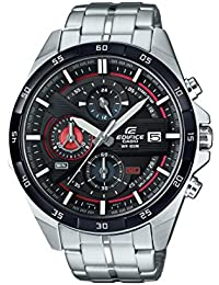 Casio Edifice Herrenuhr Analog Quarz mit Edelstahlarmband – EFR-556DB-1AVUEF