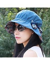 ERLINGSAN-MZ Hat Girls Sombrero de Copa de Sombrero de Sombrero de Sombrero  de la Playa Gorra de Gorro de la Moda Sombrero… b5e3f3952f1