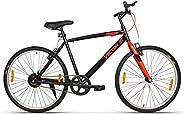 VECTOR 91 TopGun 26T Single Speed Hybrid Bike (Ideal For: 12+ Years , Brake: V Brake )