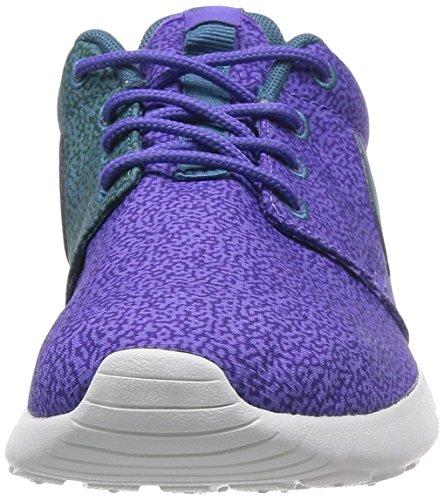 Nike Wmns Nike Rosherun Print 599432 Scarpe Da Corsa Da Donna A Colori: Viola Haze