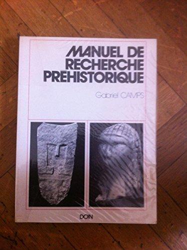Manuel de recherche préhistorique
