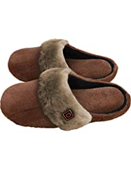Thermosoles Beheizbare Hausschuhe Thermo Slippers