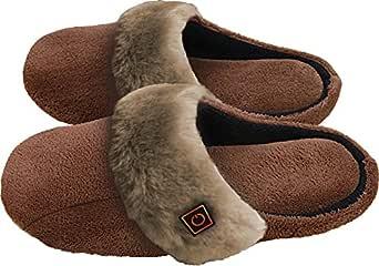 Thermo Slippers - beheizbare Hausschuhe mit 3-stufiger