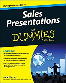 Sales Presentations For Dummies by [Hansen, Julie M.]