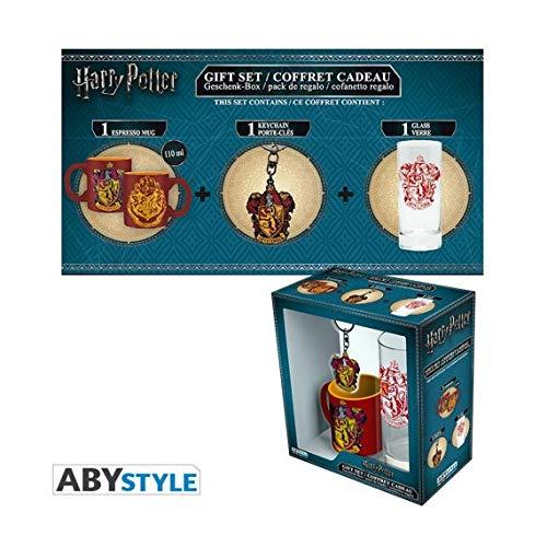 Set Regalo Gryffindor. Harry Potter. Vaso