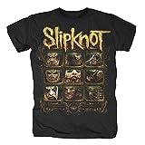 Slipknot - Formaldehído - Camiseta Oficial Hombre - Negro, XX-Large