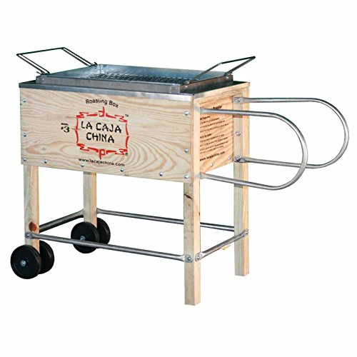 La Caja China Kistensau #3 Roasting Box Kiste Schwein BBQ Grill