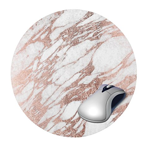 Zantec Kreative stilvolle Marmor Muster Mausunterlage mit rutschfester Unterseite -