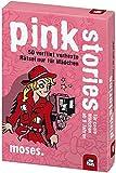 Produkt-Bild: moses. black stories Junior pink stories | 50 verflixt verhexte Rätsel | Das Rätsel Kartenspiel nur für Mädchen