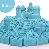 Kinetic Magic Multi-colors Sand DIY Children Kids Indoor Play Craft Handmade Toy (Blue)