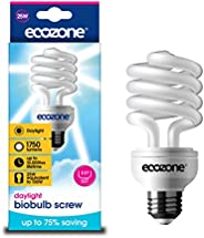 Ecozone Daylight Bulb, E27 (Edison Screw), 25 W
