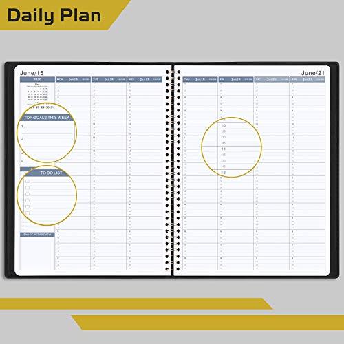 Zoom IMG-1 agenda 2020 settimanale diario a4