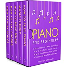 Piano: For Beginners - Bundle - The Only 5 Books You Need to Learn Piano Fingering, Piano Solo and Piano Comping Today (Music Best Seller Book 36)