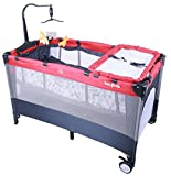 #5: Baybee Little Hut Play Pen - Premium Quality Portable Travel Cot