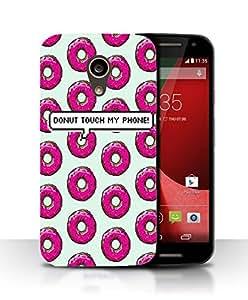 PrintFunny Designer Printed Case For Motorola Moto G 2