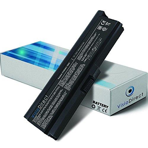 Batteria 10.8V 6600mAh per portatile TOSHIBA Satellite M810 Series - Visiodirect -