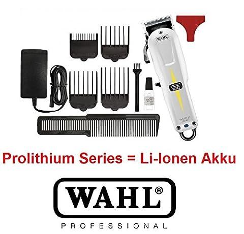 Wahl profi rotschopf24 edition : batterie lithium-ion puissante taper haarschneider.