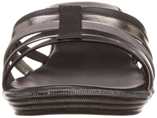 Lavie Women's 750 Slipon Black Multi Fashion Sandals - 5 UK/India (38 EU)
