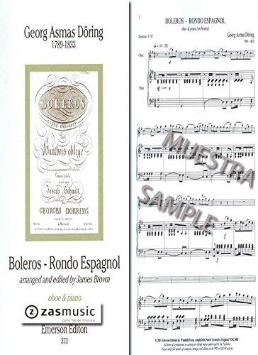 Döring: Boleros - Rondo Español (Oboe & Piano) -