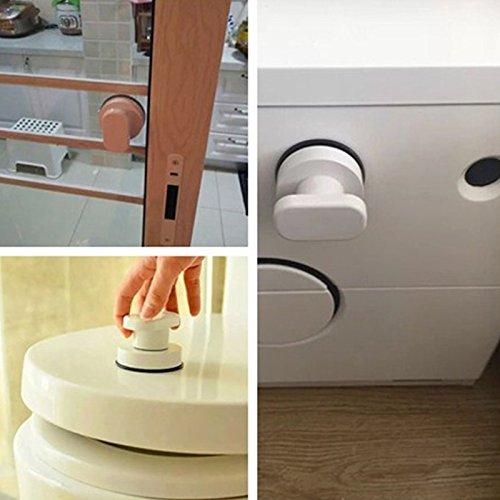 51FAs0hn9HL - Zreal - Tirador de puerta con ventosa para armario de cocina, puerta de cristal, ventosa, tirador para muebles