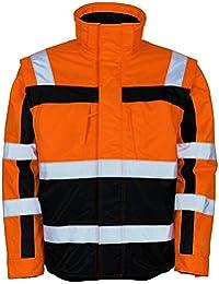 Mascot 09335–880–141–2x l Loreto–Chaqueta piloto naranja/azul marino, multicolor, 09335-880-141-XL