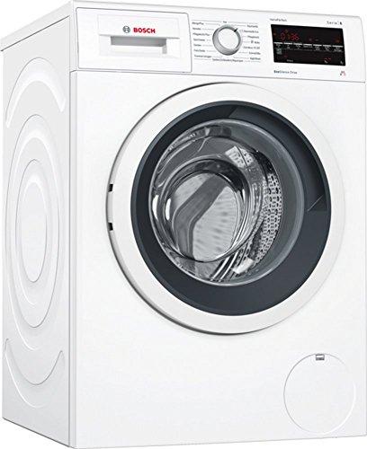 Bosch WAT28411 Waschmaschine Frontlader/A+++ / 1400 UpM/Active Water Plus/Warmwasseranschluss / weiß
