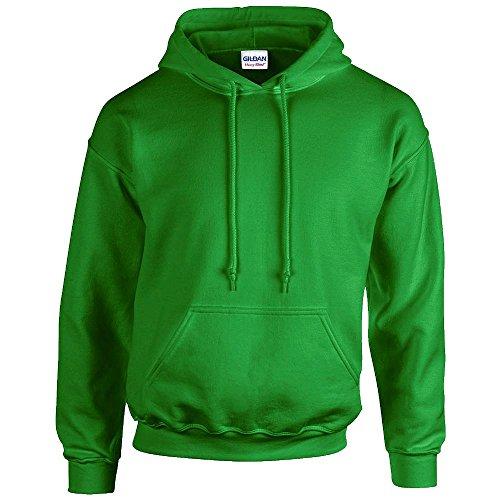 Gildan Heavy Blend Erwachsenen Kapuzen-Sweatshirt 18500 Irish Green, M