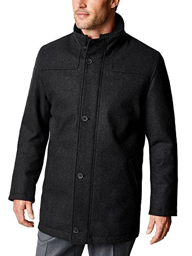 Coat einfarbig Anthrazit 54 ()