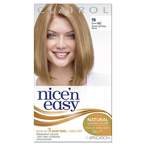 Clairol Nice N Easy Permanent Hair Colourant 97 - Natural Extra Light Beige Blonde - Extra Light Natural Blonde