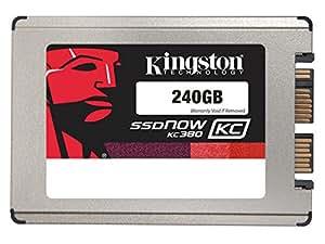 Kingston SKC380S3/240G interne SSD 240GB (4,5 cm (1,8 Zoll) SATA) schwarz