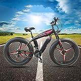 Bici di montagna elettrica 20In pneumatici 250W motore brushless 36V 12AH rimovibile Grande capacità della batteria litio E-Bike neve MTB bicicletta 30km/h 21 Speed   Gear Shimano Shifting Sistema