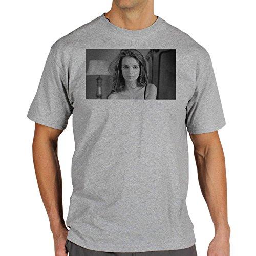 We Are Your Friends Movie Summer WAYF Model Shy Background Herren T-Shirt Grau